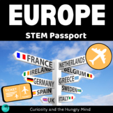 STEM Activities Student Passport around EUROPE
