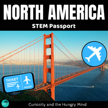 STEM Activities- Student Passport around NORTH AMERICA