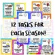 STEM Task Cards for All Seasons