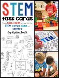 STEM Task Cards (perfect for STEM camps, clubs, and activities!)