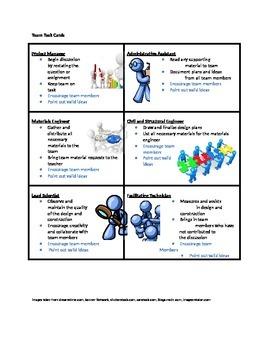STEM Team Task Cards