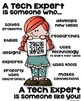 STEM Tech Expert Poster for Elementary - Someone who