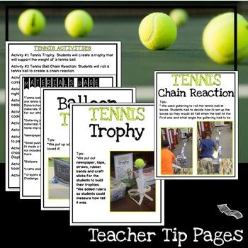 STEM Tennis Challenges