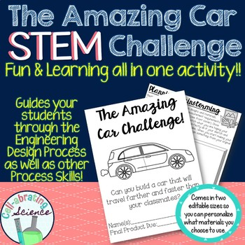 STEM - The Amazing Car Challenge (50% for 24 hours)