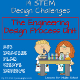 Science - The Engineering Design Process Unit with 14 STEM