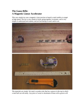 STEM - The Gauss Rifle: A Magnetic Linear Accelerator