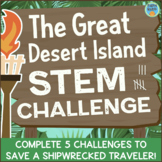 STEM Activities and Challenges: The Great Desert Island STEM Challenge