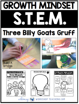 STEM Three Billy Goats Gruff (with Growth Mindset Partner Play)