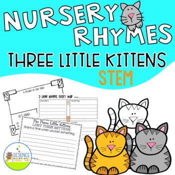 STEM Three Little Kittens Nursery Rhyme Science Pack