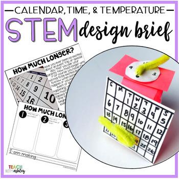 STEM Time, Temperature, & Calendar How Much Longer