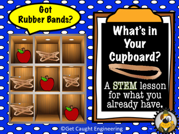 STEM  Action Time! What's in Your Cupboard? Got Rubber Bands?