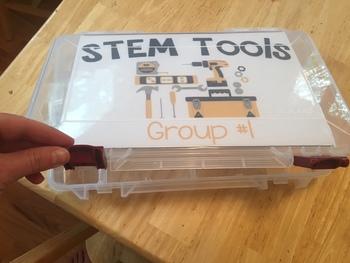 STEM Tool Kit Labels