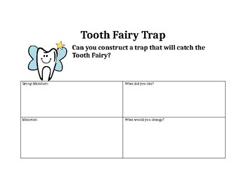 STEM-Tooth Fairy Trap