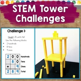 STEM Challenges with Block Tower Building