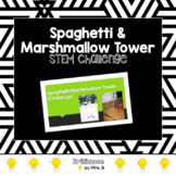 STEM Tower Challenge: Spaghetti and Marshmallow Tower!