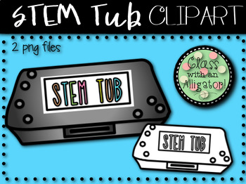STEM Tub Clip Art