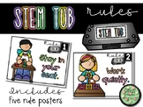 STEM Tub Rules