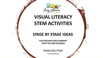 STEM - VISUAL LITERACY - NSW SYLLABUS LINKS - VIOLET THE PILOT BY STEVE BREEN