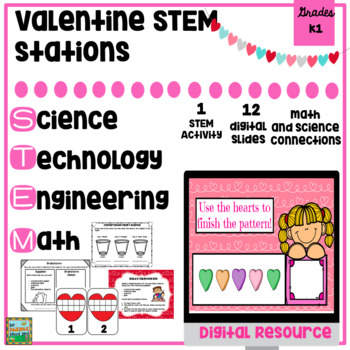 STEM  Valentine Pack with Digital Activities