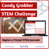 STEM Valentine's Day Challenge: Candy Grabber Math & Engineering Activity