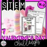 Valentine's Day STEM Challenges K-2