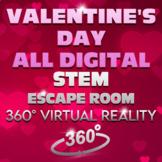 Valentine's Day Escape Room - STEM (All Digital - NO PREP)