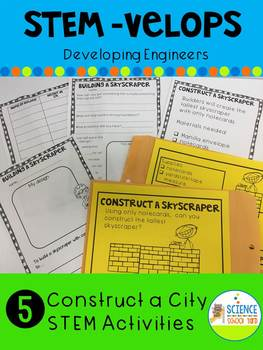 STEM Velope Construct a City Construction Pack