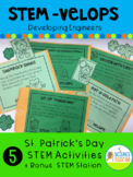 STEM Velope St. Patrick's Day STEM 6 Pack