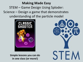 STEM Video Game Design with Sploder: Use Engineering Design for Particle Model