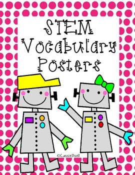 STEM Vocabulary Posters