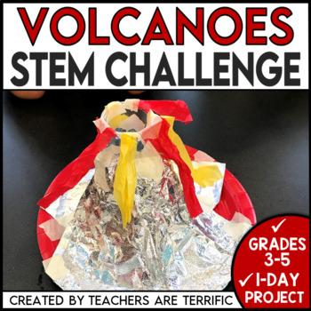 STEM Volcanoes Quick Challenge