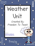STEM: WEATHER Unit*Lesson Plans*Projects*Game*Study Guide*Assessment*