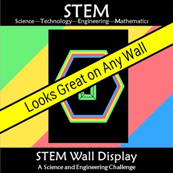 STEM Wall Display Title A4 and A3 version included