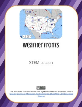 STEM - Weather Fronts Activity
