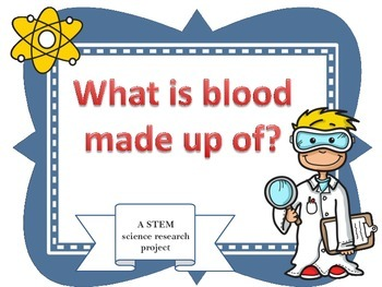 """STEM """"What's in Blood?"""" challenge"""