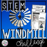 STEM Windmill Activity   Earth Day