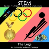 Winter Olympics 2018 STEM The Luge: Engineering Math Challenge