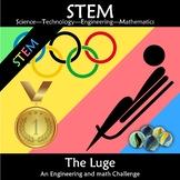 Winter Olympics 2018 STEM The Luge: Engineering Math Challenge