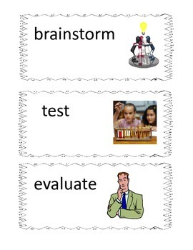S.T.E.M. Word Wall Cards