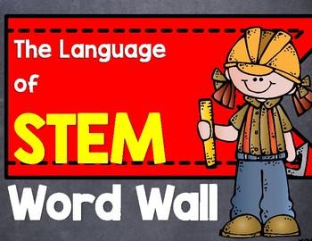 STEM Word Wall (Printables)