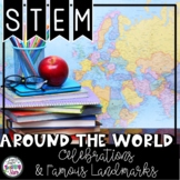 STEM World Famous Landmarks Activities Bundle