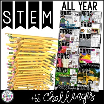 STEM for the Year Bundle including St. Patrick's Day Activities