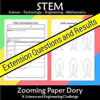 STEM Zooming Paper Dory: A Science and Engineering Challenge
