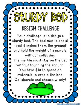 STEM Design a Sturdy Bed