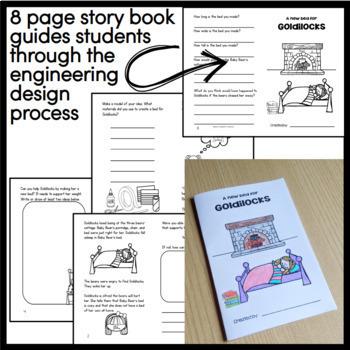 Goldilocks and the Three Bears STEM engineering design challenge - STEM Tale