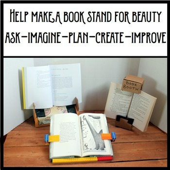 Beauty and the Beast STEM activity - Create A Book Stand for Belle!