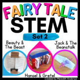 STEM activity BUNDLE (Set 2) Fairy Tale challenges