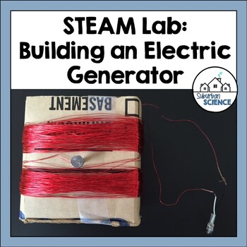 STEAM activity- Building a Simple Generator using Renewabl