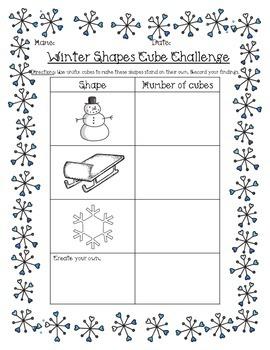 STEM activity challenge (winter edition)