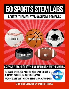 50 Sports Themed STEM and Engineering Challenges MEGA Pack